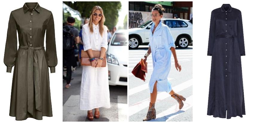 Nosí sa: Prechodné šaty