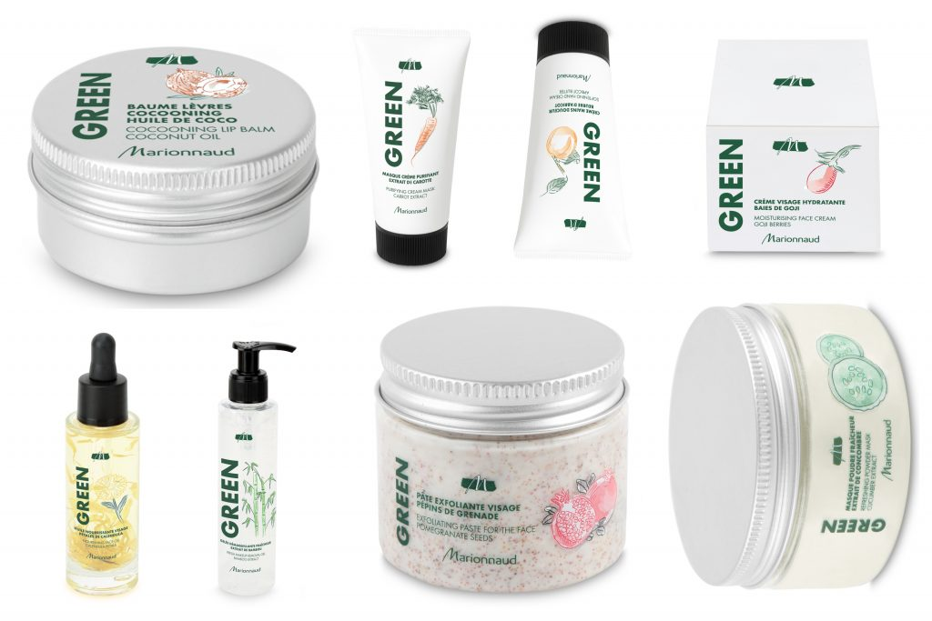 Marionnaud Green - prírodná kozmetika z parfumérie