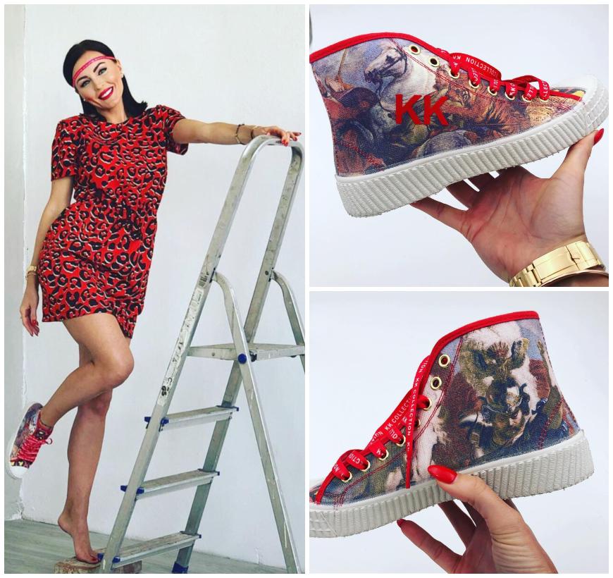 KK Shoes: Kristína Kormúthová predstavuje výnimočnú art kolekciu