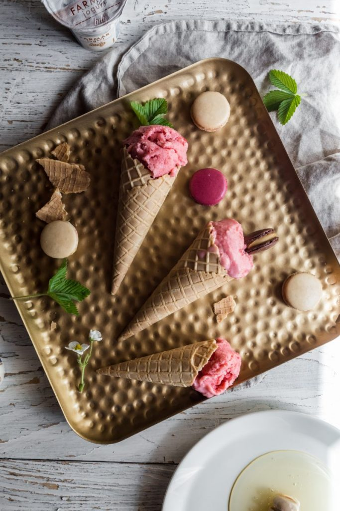 Štýlové osvieženie: Domáca jahodovo-jogurtová zmrzlina