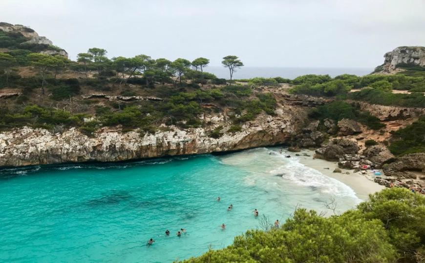 Najkrajšie pláže Malorky