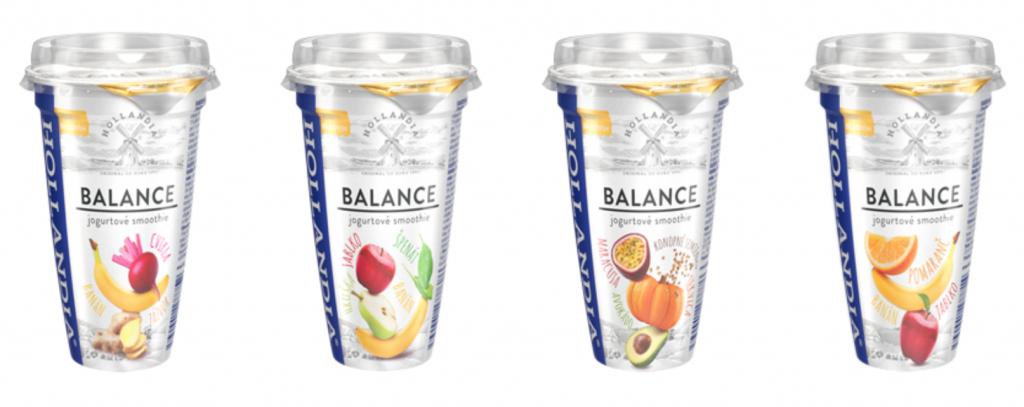 Jogurtové smoothie pre zdravý životný štýl