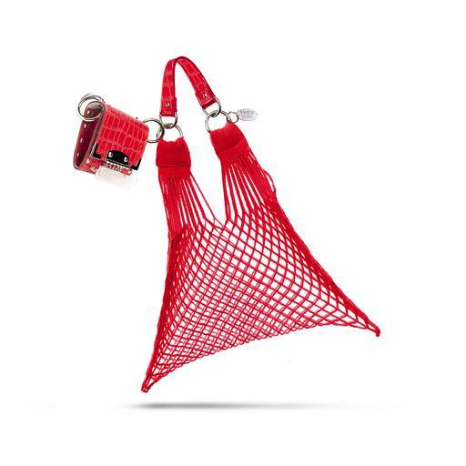 Seatbelt bag a Ceska sitovka cervena