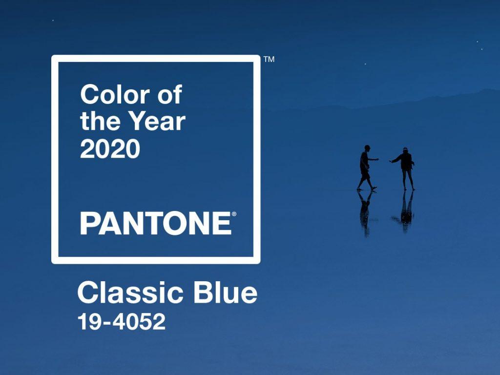 Farba roka 2020: Klasická modrá