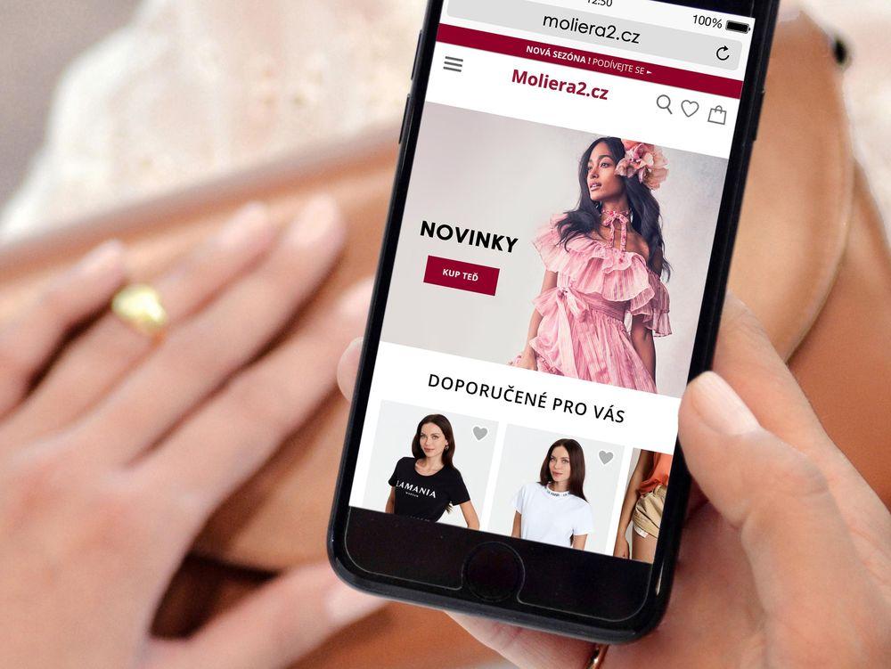 Online obchod Moliera2.cz: Největší výběr luxusních značek v České republice