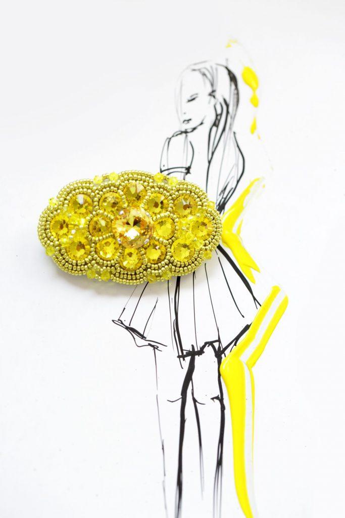 Skvostne pôvabná v letnej módnej sezóne: Brošne Skvost v palete farebných odtieňov  pestrej ako plátno umelca