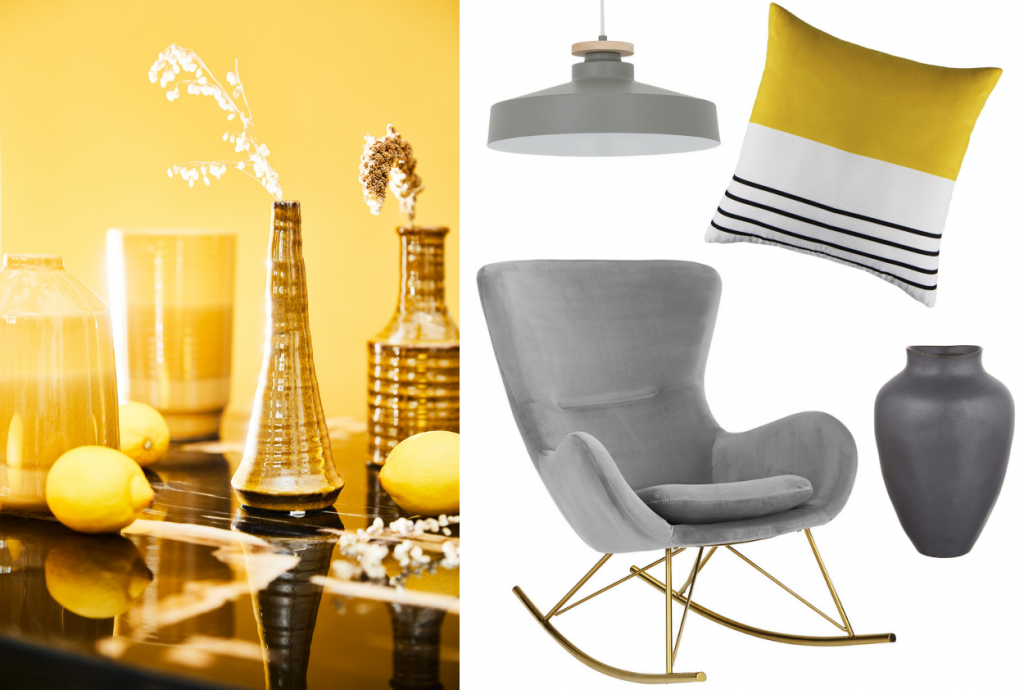 Interiéry v odtieňoch Ultimate Grey a Illuminating Yellow