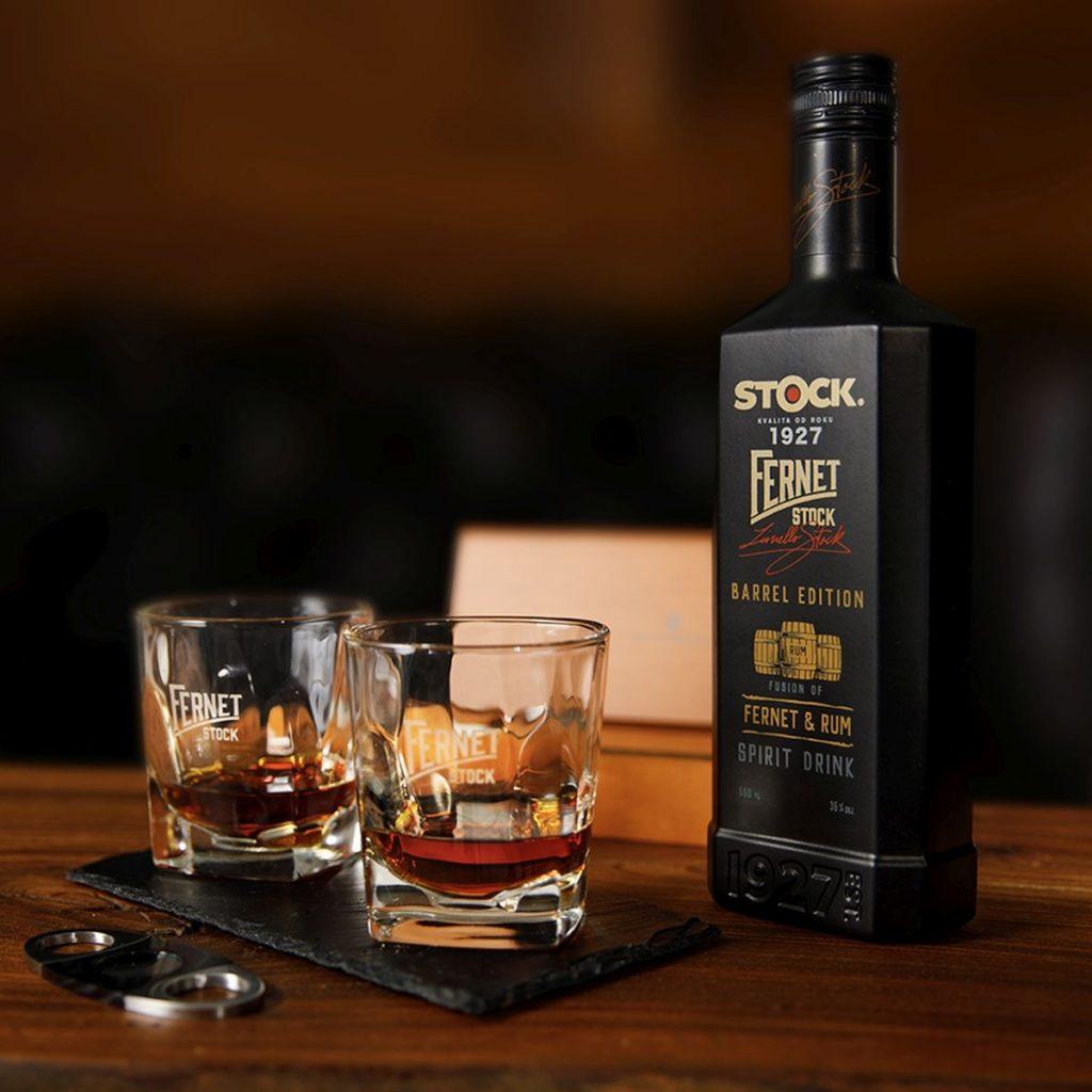 Unikátna chuť rumu vspojení so známym bylinným likérom Fernet Stock