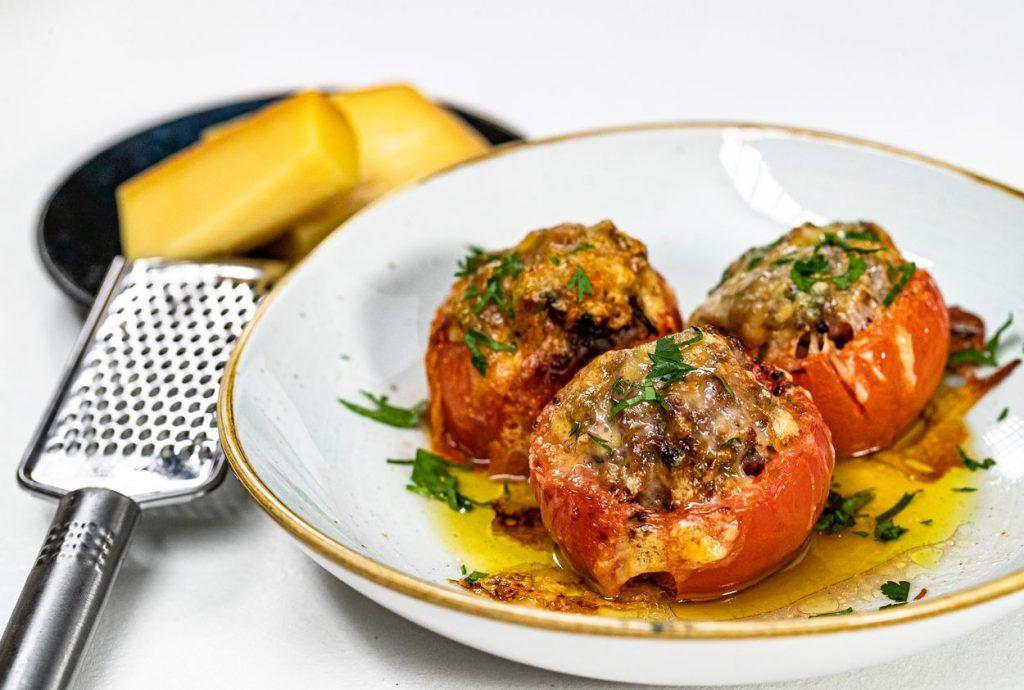 Chuť francúzskej kuchyne: Rajčiny plnené mletým mäsom