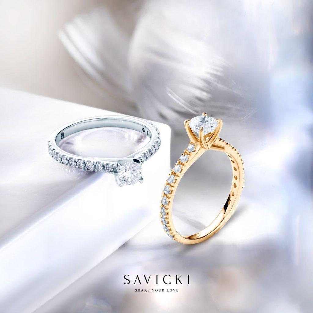 Zásnubný prsteň - diamant alebo zafír?