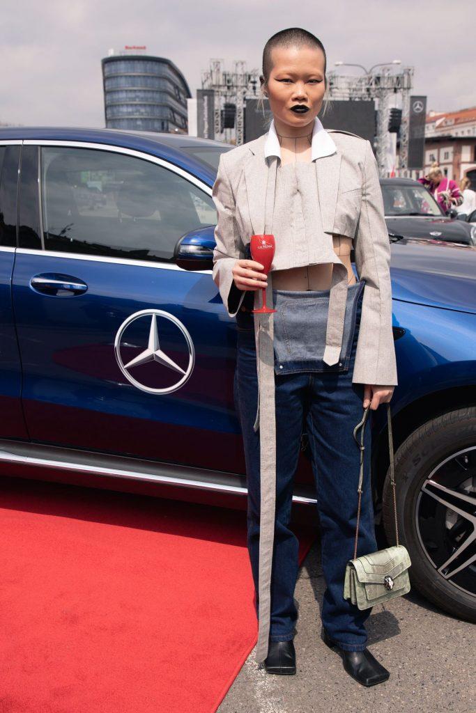 Streetstyle na Mercedes-Benz Prague Fashion Week FW/21