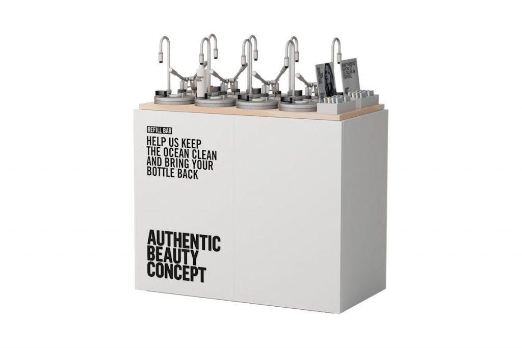 Refill bar od AUTHENTIC BEAUTY CONCEPT. Služba dostupná v Bratislave aj Prahe