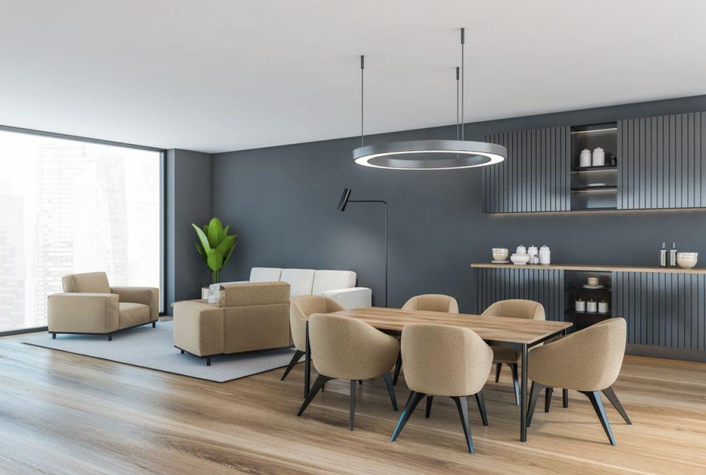 Prečo je výhodné mať spojenú obývačku s jedálňou?