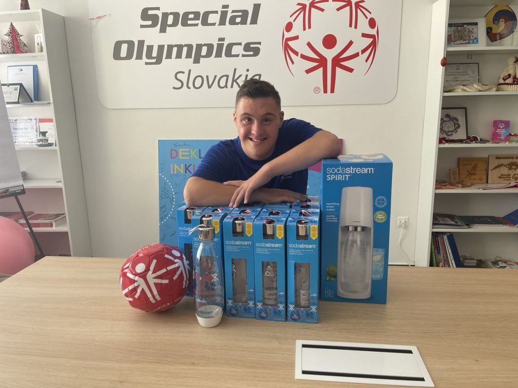 Dobrá vec sa podarila: SodaStream podporuje reprezentantov Slovenska na Špeciálnych olympiádach